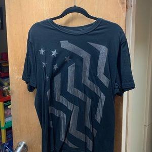 American rag tee shirt large
